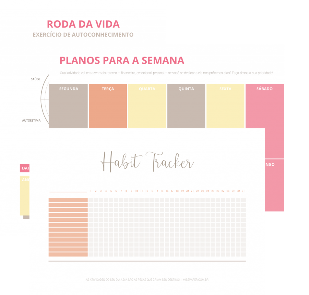 Miniaturas footer | Miss Paper