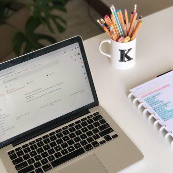 Como organizar emails | Miss Paper | Karina Matos
