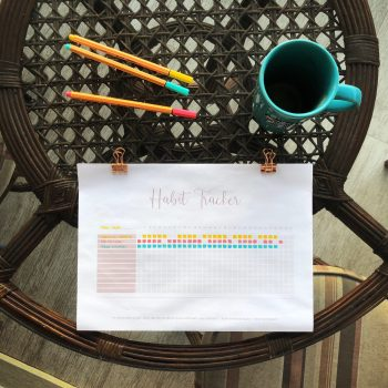 Habit Tracker Download | Miss Paper | Karina Matos